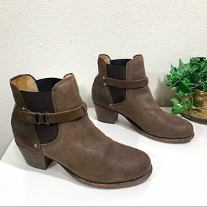 Rag And Bone DURHAM Boots Brushed Leather Chelsea